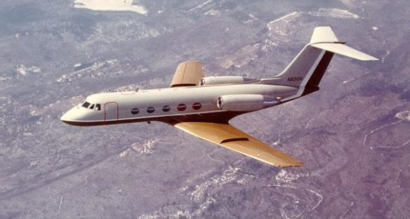 GulfStream_II_in_air